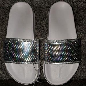 Shoes - 🆕 White Slides